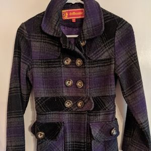 Dollhouse tweed full length coat